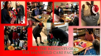 Collage of Visit to Mansfield Care and Rehab