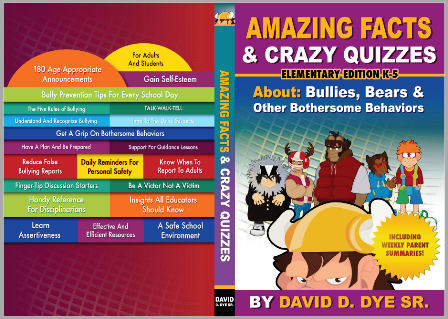 Book cover to Amazing facts