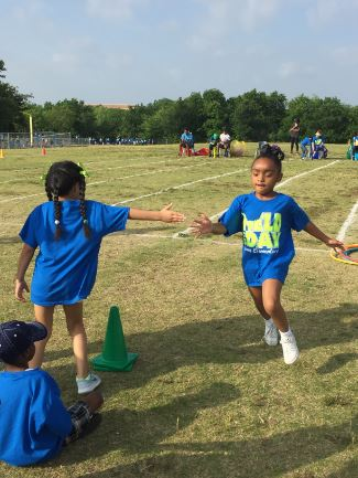 Kinder relay race