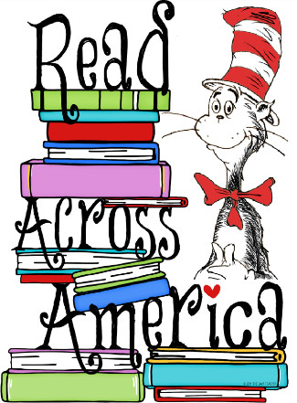 Dr. Seuss with books